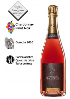 Champagne Tango Paradoxe Rosé