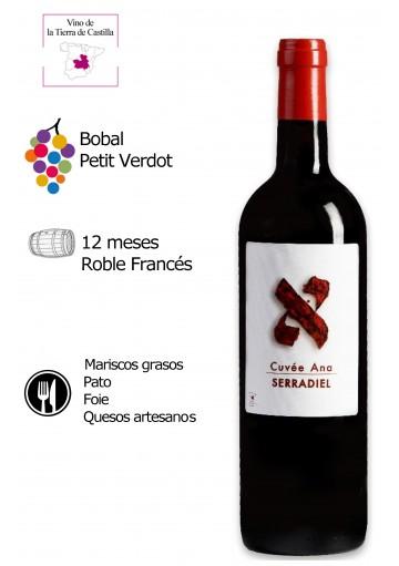 Serradiel Cuvée Ana 12 meses Roble Francés